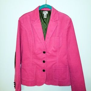 Lilly pulitzer corduroy jacket
